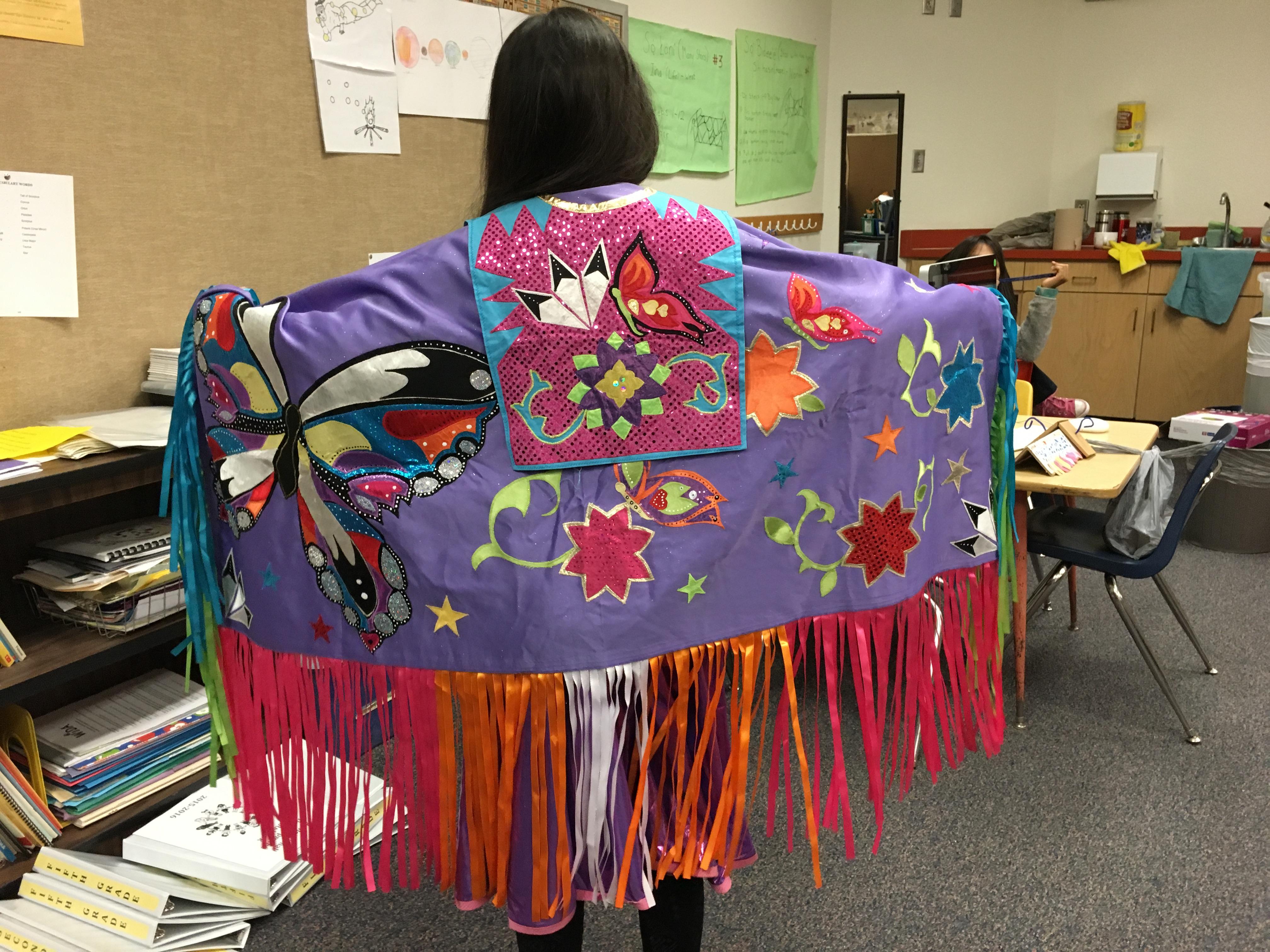 Navajo and Spanish Dual Language Kids From La Mesa Elementary Students