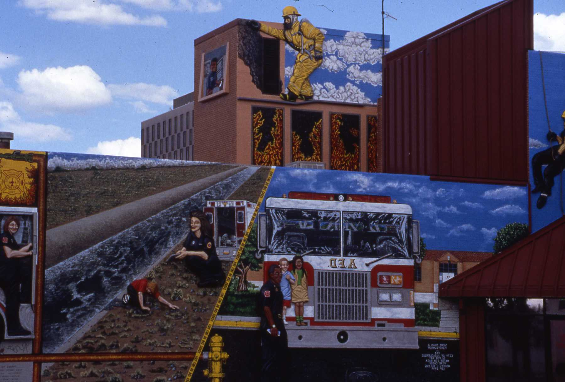 Live At The Levitated Toy Factory With ABQ Fire Rescue Station No.1